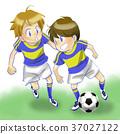 足球 少年 小朋友 37027122
