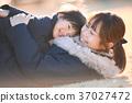 父母和小孩 親子 笑容 37027472