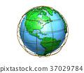 地球儀 土地 土 37029784