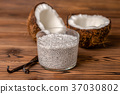 chia pudding glass 37030802