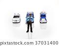 경찰차, 장난감, 남자 37031400