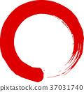 circle, red, ○ 37031740