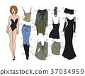 Dressing paper doll 37034959