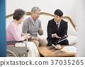 老夫婦,推銷員,韓國人 37035265