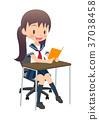 high school girl 37038458