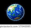 earth, globe, light 37040995