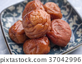 Traditional Japanese Umeboshi  37042996