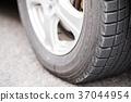 스노 타이어 이미지 37044954
