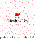 valentines, day, heart 37045359