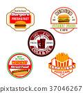 vector burger drink 37046267