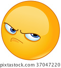 Pissed off emoticon 37047220