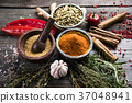 Spices, herb, herbs 37048941