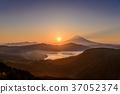富士山 大冠山 日落 37052374