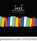 banner, jazz, music 37052436