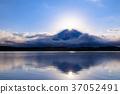 富士山 钻石富士 狸子湖 37052491