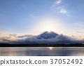 富士山 钻石富士 狸子湖 37052492