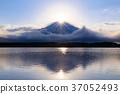 富士山 钻石富士 狸子湖 37052493