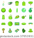 landscaping, icons, set 37053931