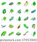 green, world, icons 37053940
