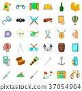 treasure icon cartoon 37054964