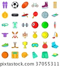 fitness, icon, cartoon 37055311