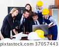 Meeting of architectors indoors 37057443