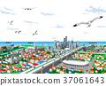 城镇 城市 市容 37061643