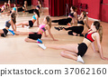 Active females dancing excited posing 37062160