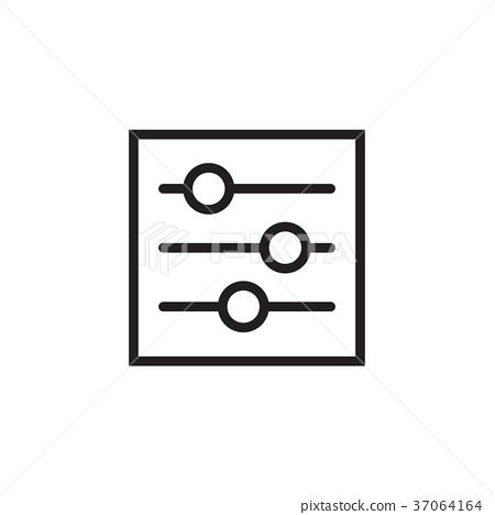 Setting icon Vector illustration, EPS10. 37064164