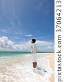 海洋 海 蓝色的水 37064213