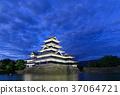 松本城 城堡塔樓 天守閣 37064721