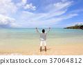海洋 海 蓝色的水 37064812