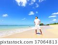 海洋 海 蓝色的水 37064813