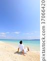 海洋 海 蓝色的水 37066420