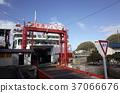 渡口 渡船 船 37066676