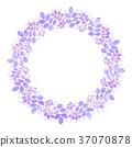 樹葉 葉子 花環 37070878