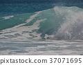 Wave of Niijima-Habushiura coast 37071695
