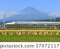 신칸센과 후지산 -5516 37072117