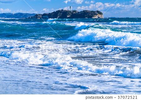 昭南海岸 江之岛 海洋 37072521