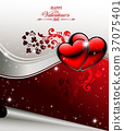 design, valentines, day 37075401