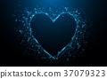 心 抽象 向量 37079323