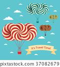 Travel time illustration 37082679