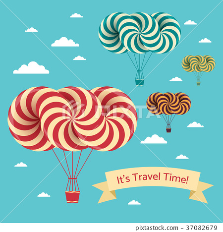 Travel time illustration 37082679