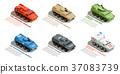 一组 一套 交通工具 37083739