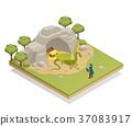Fairy Tale Isometric Composition  37083917