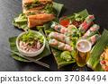 월남 쌈과 베트남 요리 Vietnamese variety 37084494