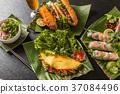 春卷 越南菜 民族美食 37084496