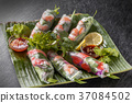 spring roll, vietnamese food, ethnic cuisine 37084502