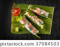 春卷 越南菜 民族美食 37084503