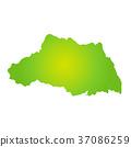 แผนที่จังหวัดไซตะมะ 37086259